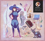 Original: Cyber Witch (Right side)