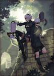 NieR Automata: Forest Kingdom