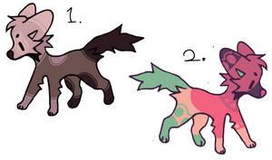 [2/2 OPEN] Base Adoptables (Animal Pay To Adopt)