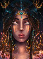 High Priestess by Craftea