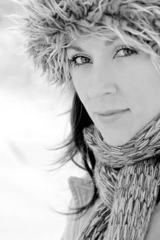 Erosanne snow portrait
