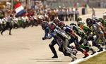 Le Mans Start by DaveAyerstDavies