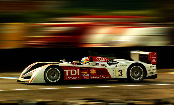 Audi at Le Mans qualifying