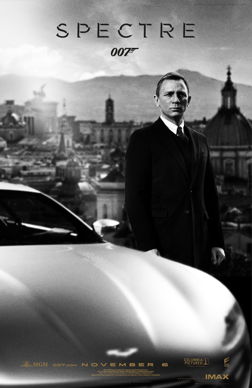 Bond24 spectre onesheet imax print 1 by danielcraig1 on - Daniel craig bond wallpaper ...
