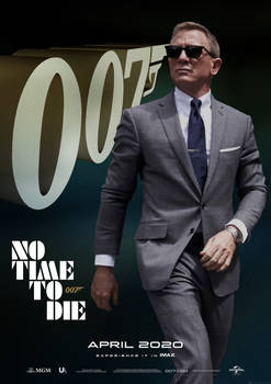Bond 25 NO TIME TO DIE Teaser 01 OneSheet Fin DM