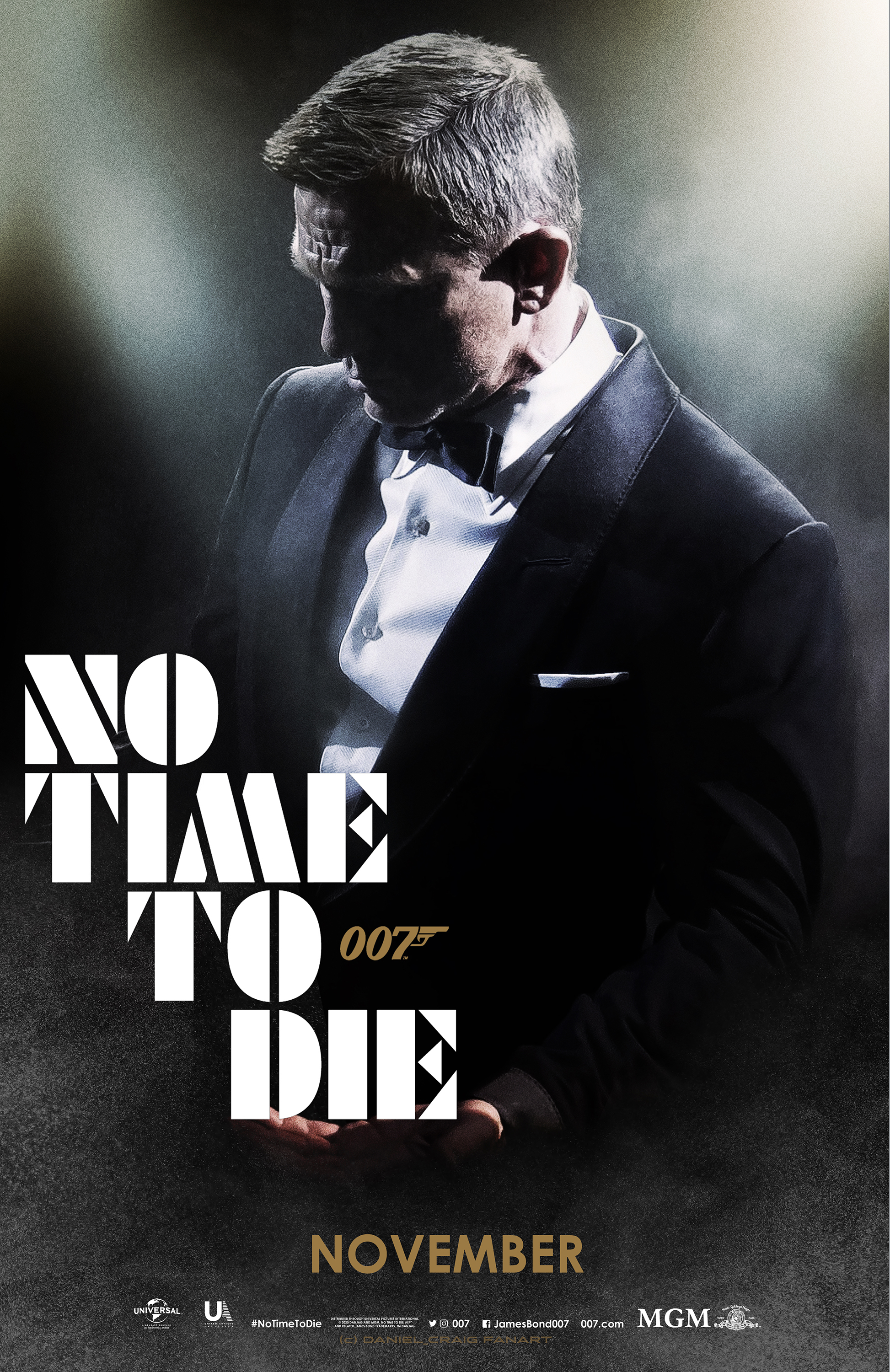 Bond 25 NO TIME TO DIE int Teaser 01 OneSheet Fin