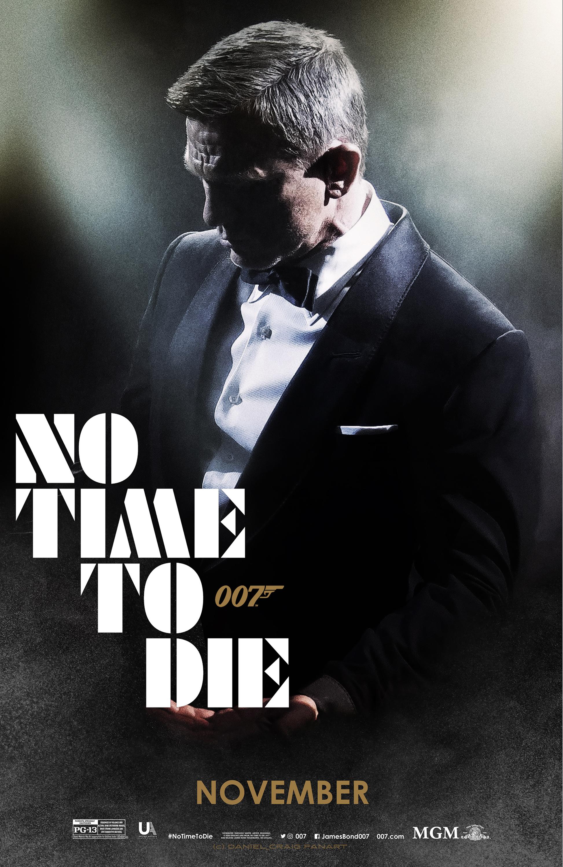 Bond 25 NO TIME TO DIE US Teaser 01 OneSheet Fin D