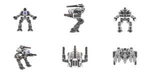 Battletech Marauder IIC 3D