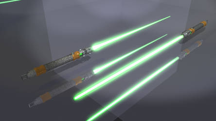 AriaV Lightsaber On
