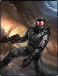 Black-Armored Spartan by shadow-of-venca