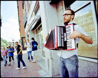 The Beat-Boxing Accordion Man by TheLong