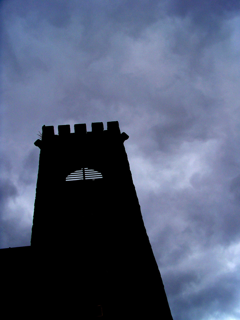 a tower in the clouds by HMJS-Photography