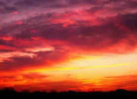 Warmth in the sky by CherishKay