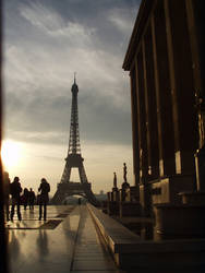 Eiffel in the morning by original-username