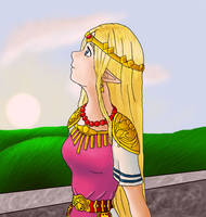Queen of Hyrule by Mystical-Si
