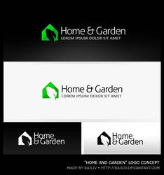 Home and Garden   Logo by Rajliv