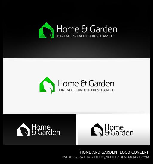 Home And Garden Logo By Rajliv On DeviantArt - Home and garden logo
