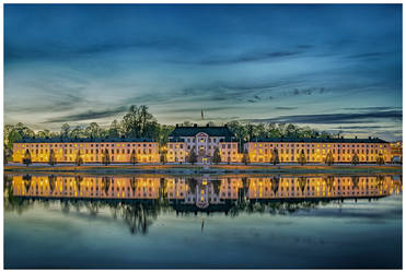 Karlberg Palace by baphometgg