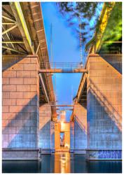 Liljeholmsbron by baphometgg