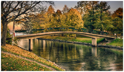 Autumn in Stockholm by baphometgg