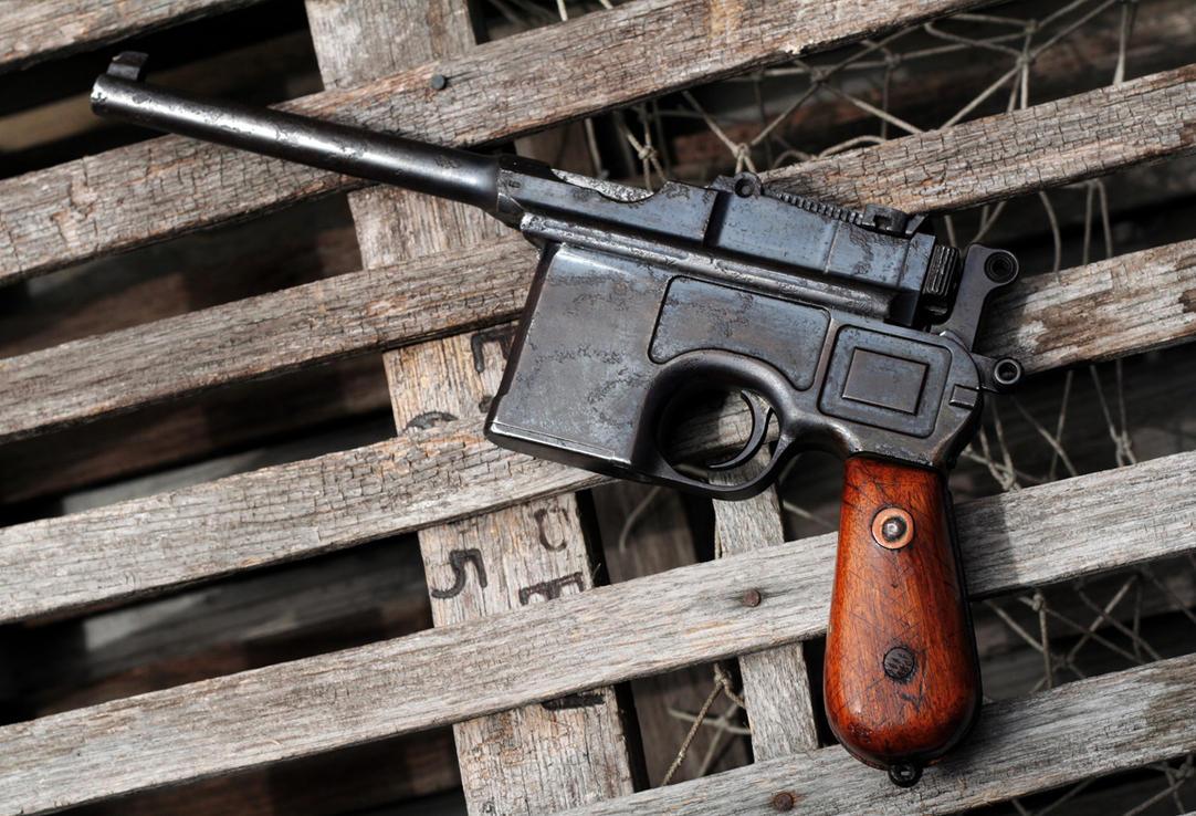 Mauser C96 by ChillBebop