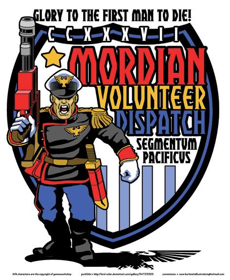 Mordian Volunteer Dispatch CCXXXVII by KurtMetz