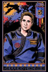 Babylon 5 Jeffery Sinclair -web by KurtMetz