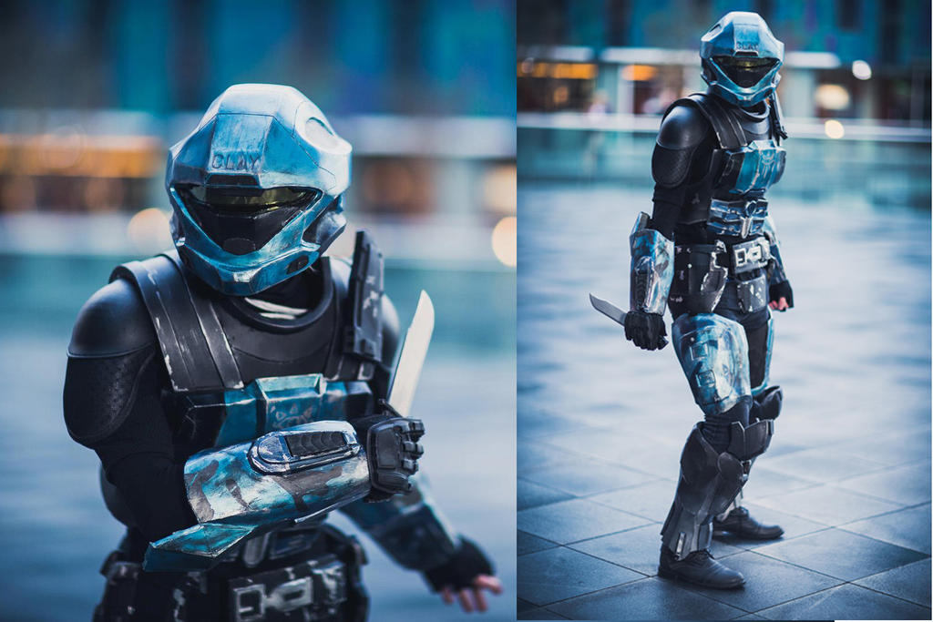 Halo ODST Clay by phixix