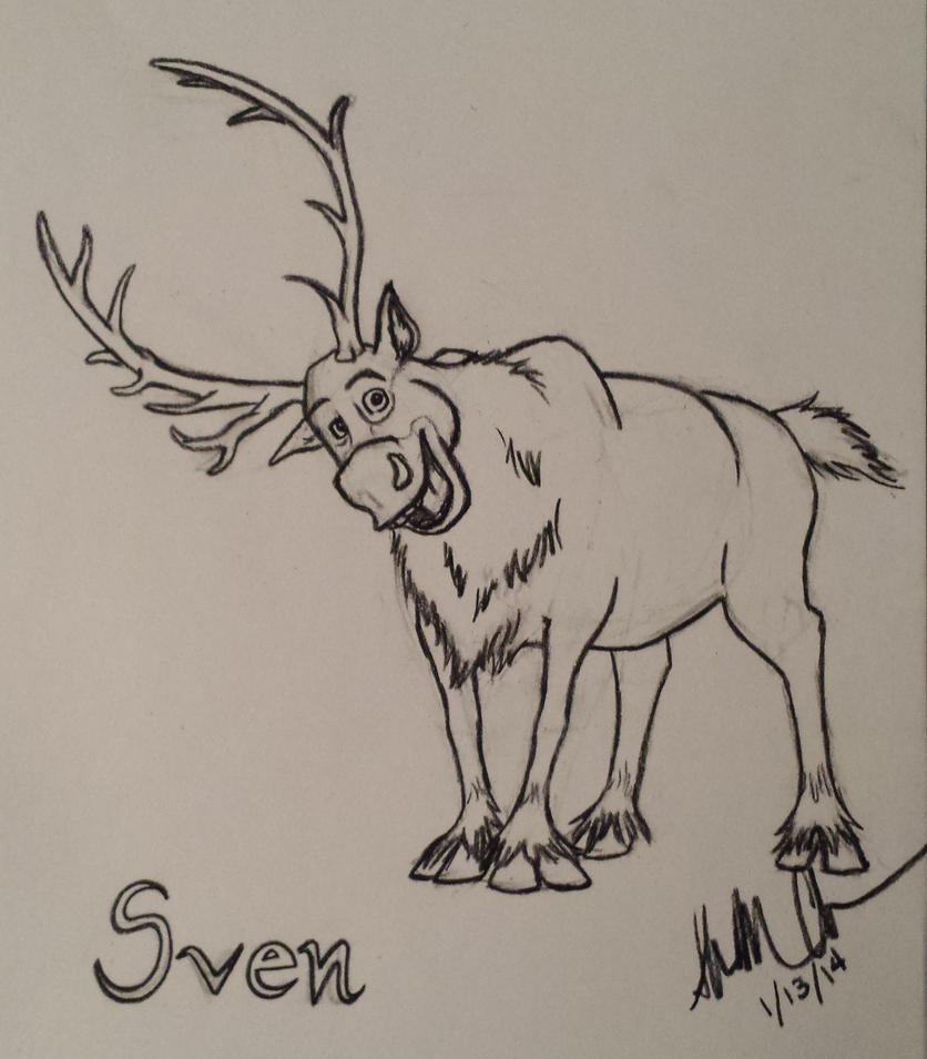 sven from frozen by jellybean839