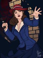 Agent Carter by FlaffleWaffle