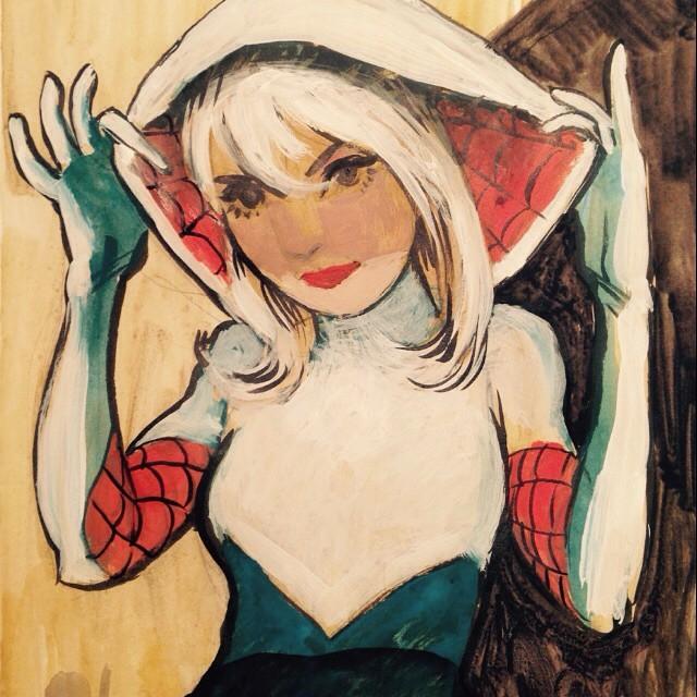 Spider Gwen by DavidPatel
