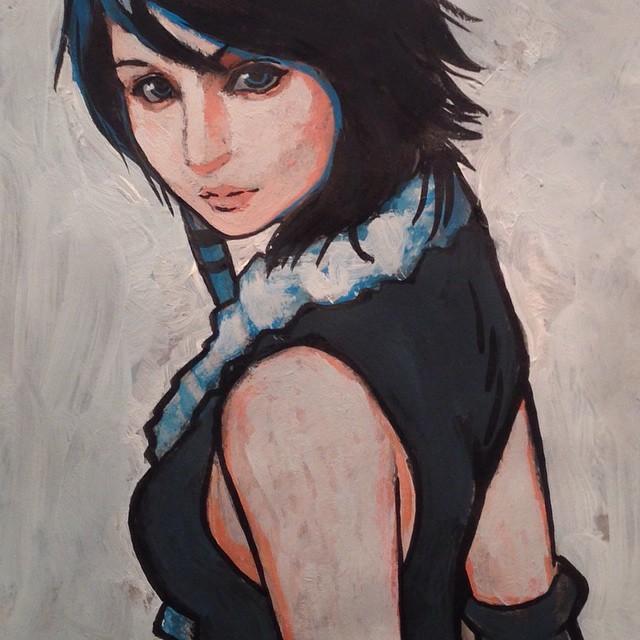 Songstress Yuna by DavidPatel