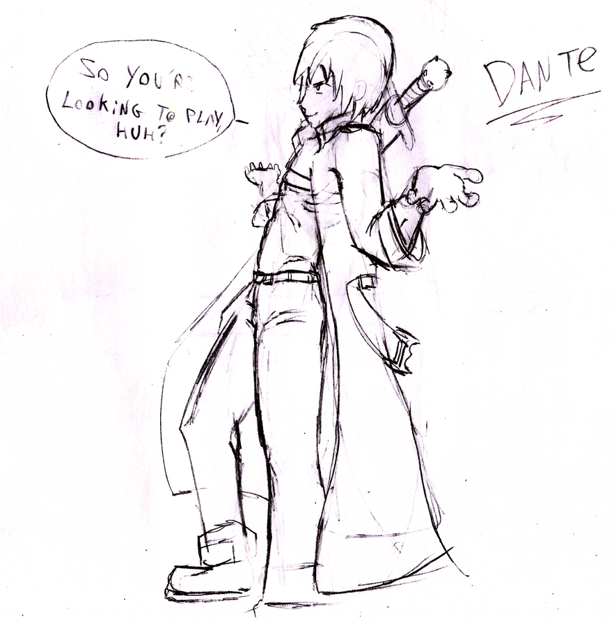 Dante by TioTonyRedgrave