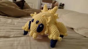 Joltik crochet plush (with pattern)