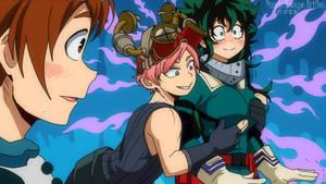 My hero Academia Genderbend / Hatsume male n deku