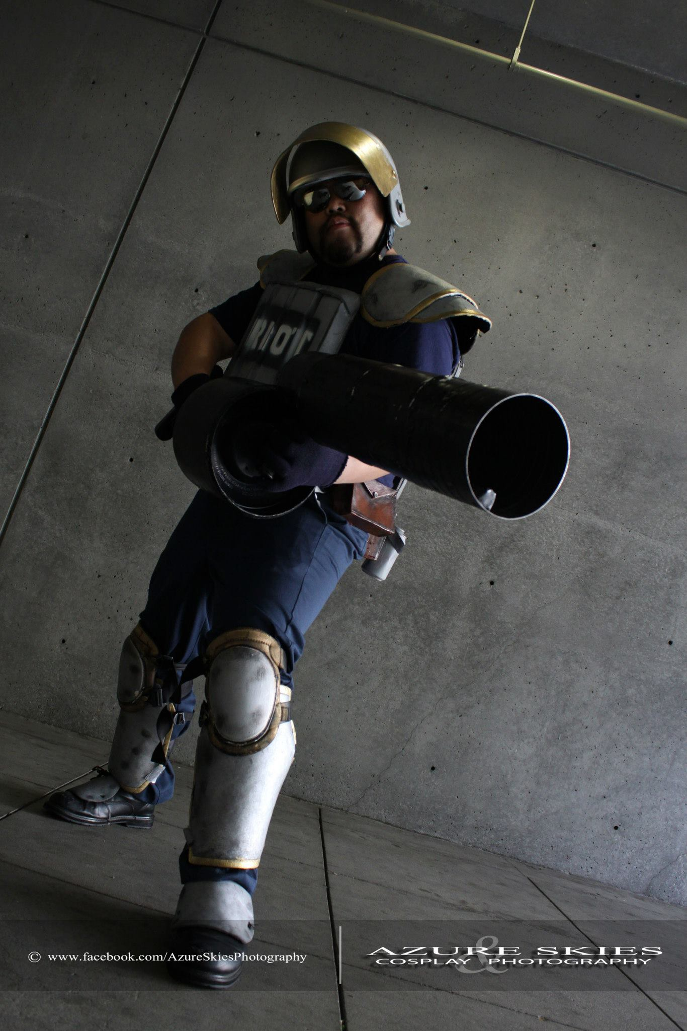 Riot Graves Cosplay Anime Expo 2013 by Protoxslasher on ...