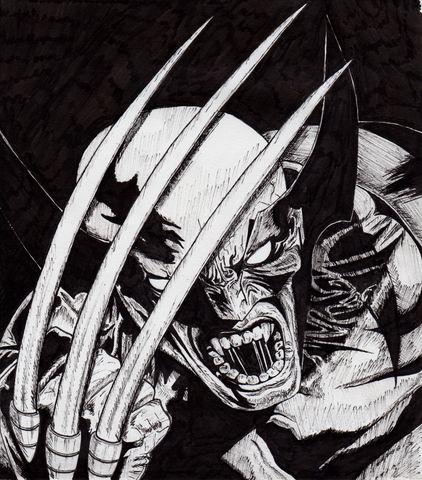 Dad' Wolverine_by_Dad24