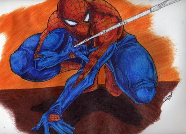 Dad' Spider_Man_by_Dad24