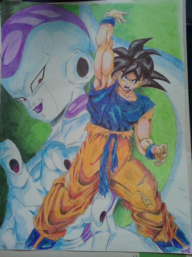 Dad' Goku_and_freezer_by_dad24-d37h53y