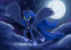 Luna by FidzFox