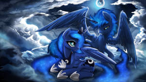 Commission - Luna and OC