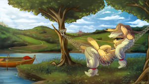 Applejack's chill spot.