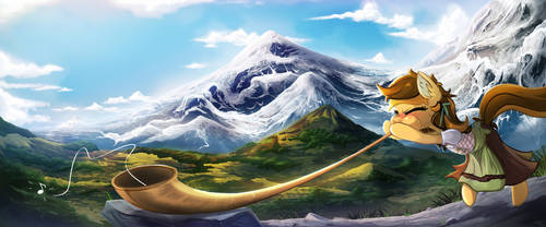 Commission - Banner for Suisse Pony's Con 2 by FidzFox