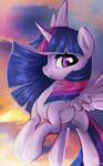 Twily in the sky!