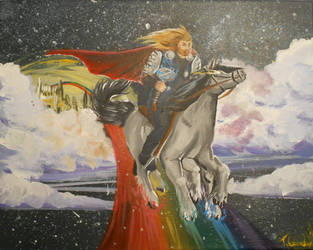 Rainbows and Thunder by Camaendes