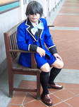 Ciel (episode 4 outfit) at Fort Canning by Heatray2009