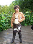 Eren from SNK by Heatray2009