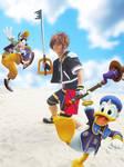 Sora from Kingdom Hearts 2 (2) by Heatray2009