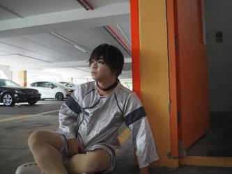 Shinji from Eva 3.0 in the hospital outfit by Heatray2009