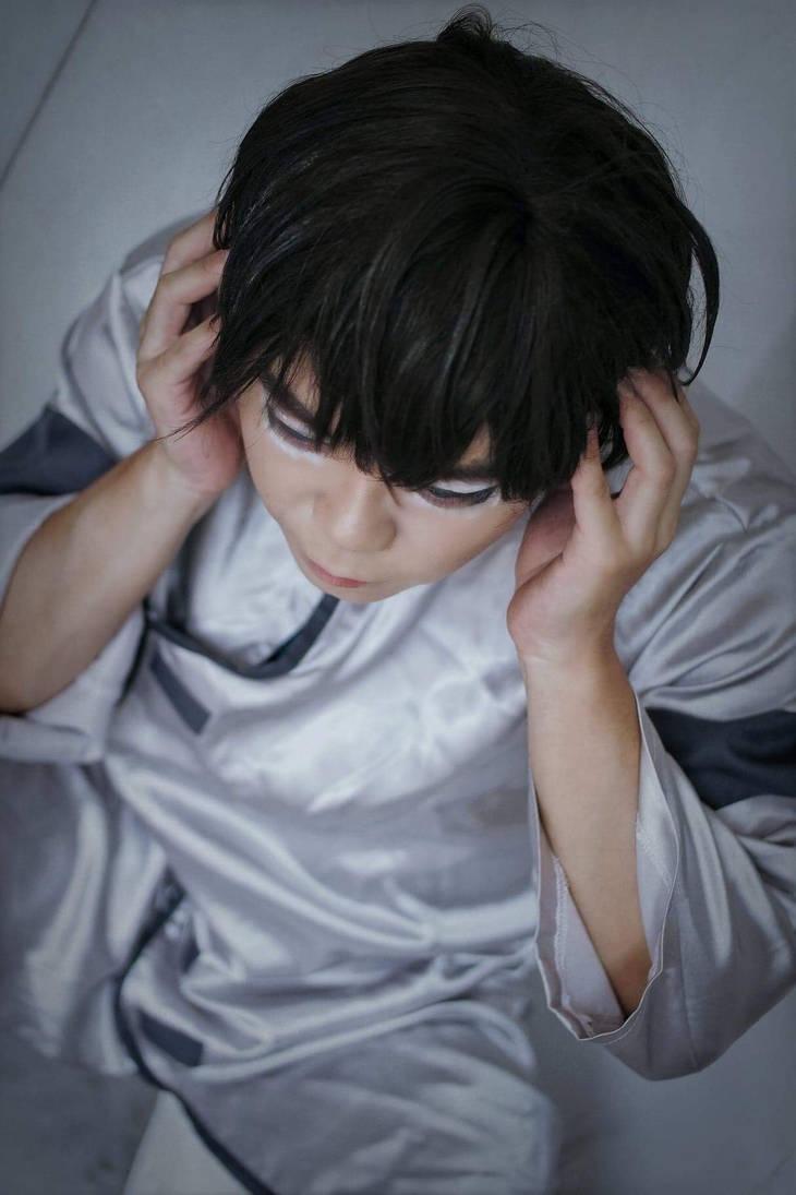 Shinji from Eva 3.0 in the hospital outfit 3 by Heatray2009